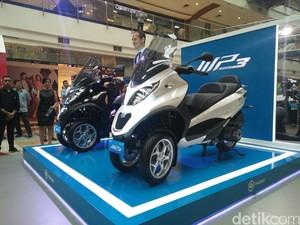 Skuter Pionir Tiga Roda di Indonesia Seharga Mobil