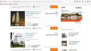 Tak Ada yang Aneh, Banyak Properti Triliunan Rupiah Dijual Online