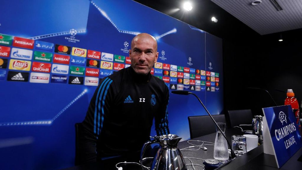Zidane Nantikan Aliran Gol dari Striker-Striker Madrid