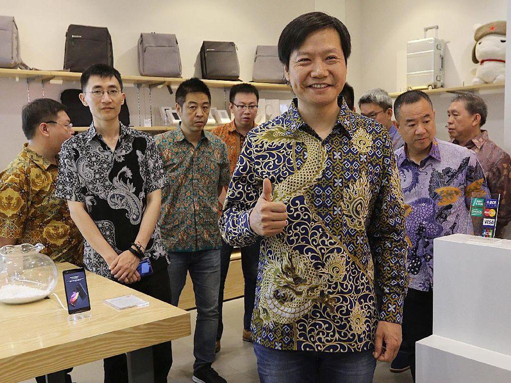 CEO Xiaomi Lei Jun Kangen Indonesia?