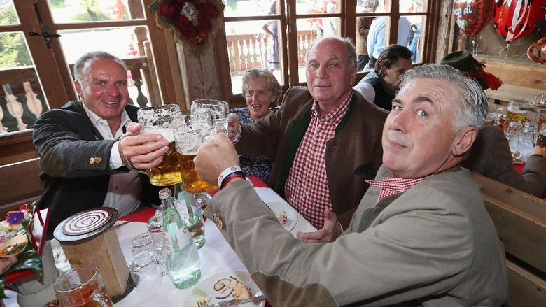 Ancelotti Akan Dipecat Jika Bayern Tak Juara Liga Champions