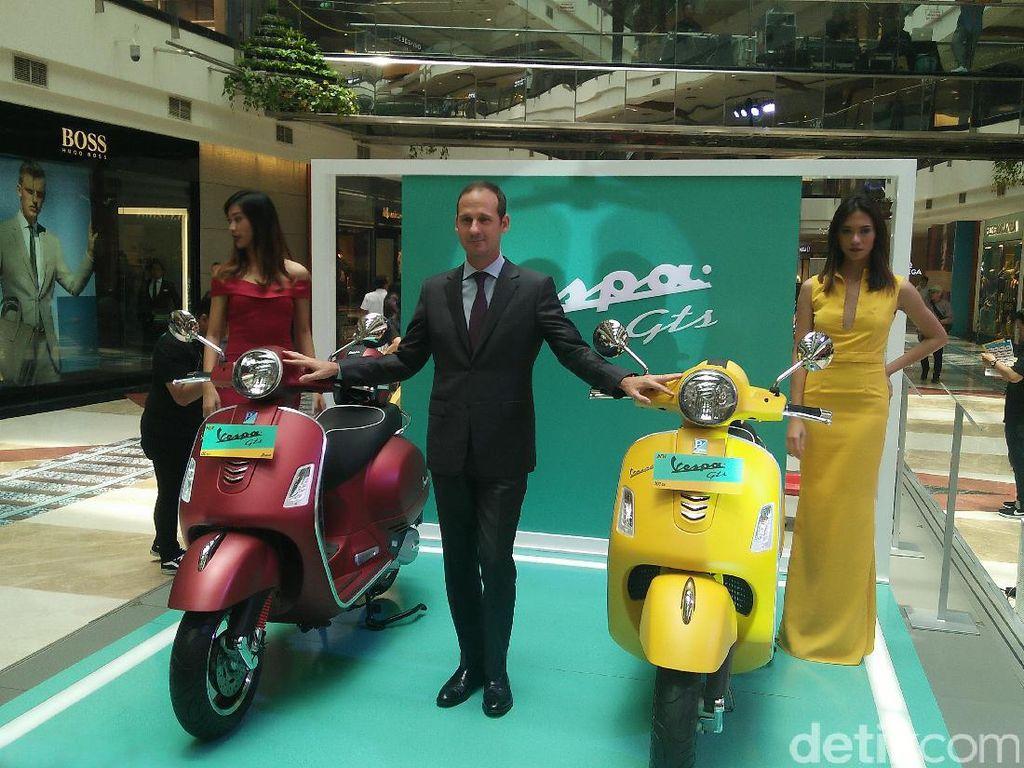 Piaggio Indonesia Luncurkan Motor Lebih Mahal dari Toyota Avanza