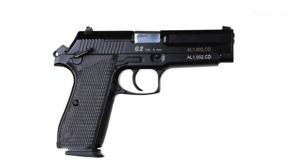 Foto: MAG 4 Pesanan Polri dan Deretan Pistol Canggih Buatan Pindad