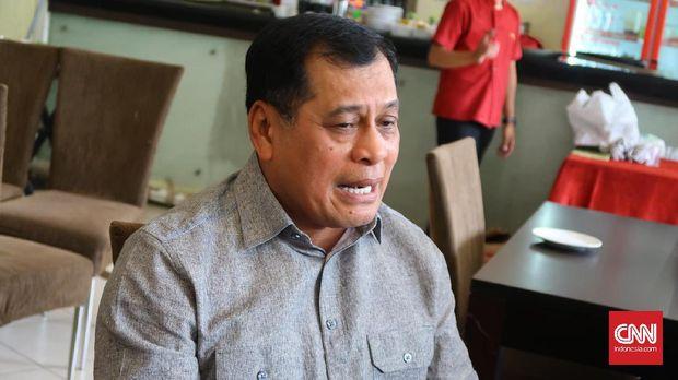 Nurdin Halid sempat memimpin dua periode sebagai Ketum PSSI. (