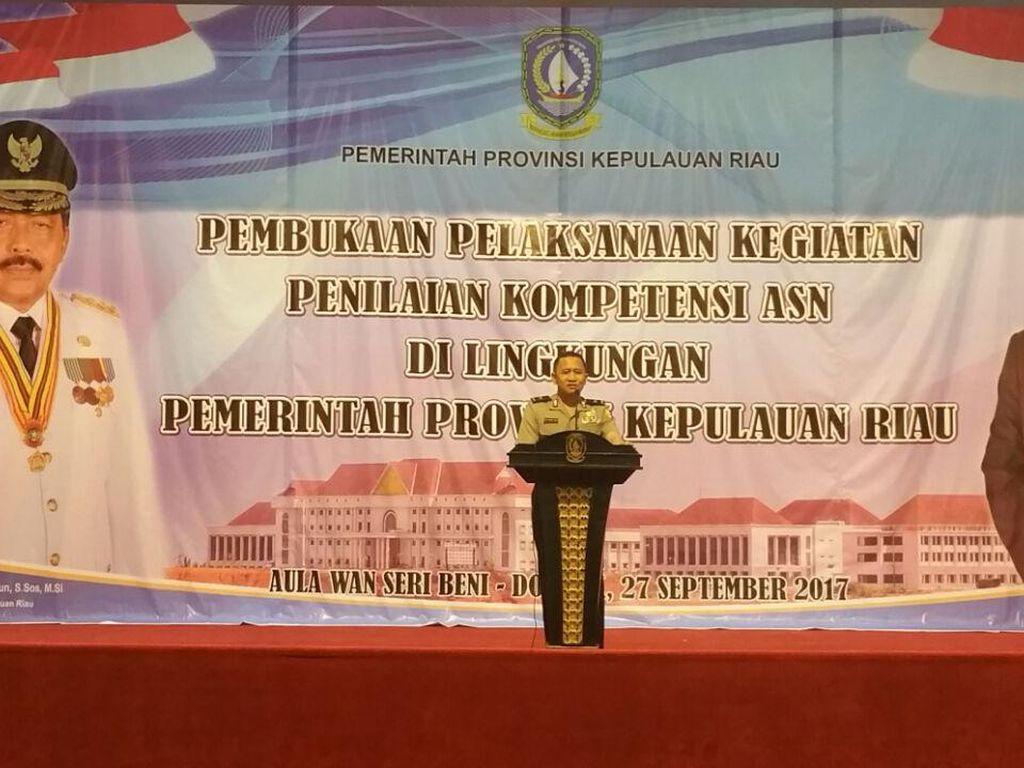 Pemprov Kepri Gandeng Biro SDM Polri untuk Uji Kompetensi Pegawai