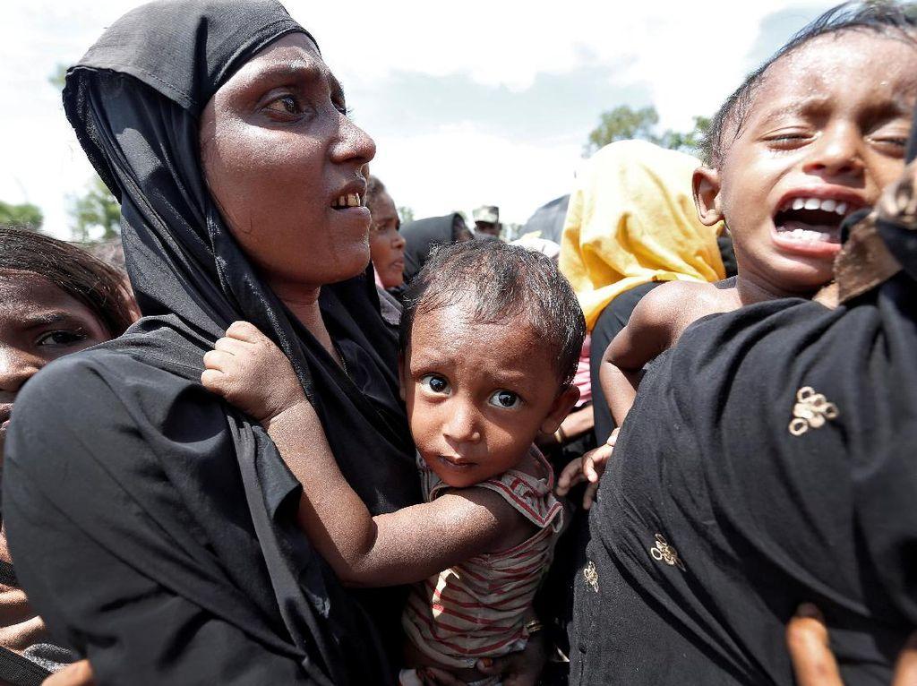 PBB: Operasi Myanmar Bertujuan Mengusir Rohingya Secara Permanen