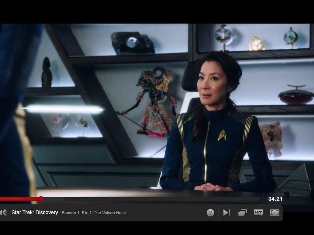 Ada Wayang Kulit di Star Trek: Discovery, Gatotkaca?