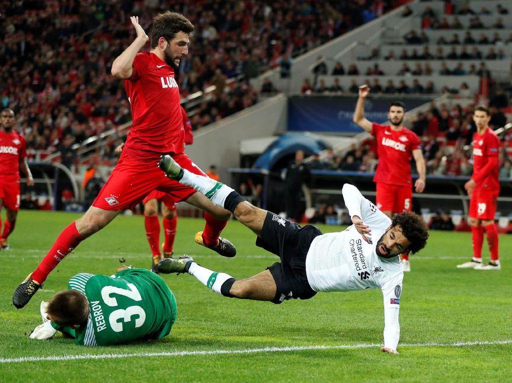 Spartak vs Liverpool Tanpa Pemenang