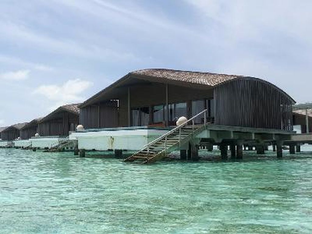 Foto: Tempat Honeymoon Mewah Raisa dan Hamish Daud di Maldives