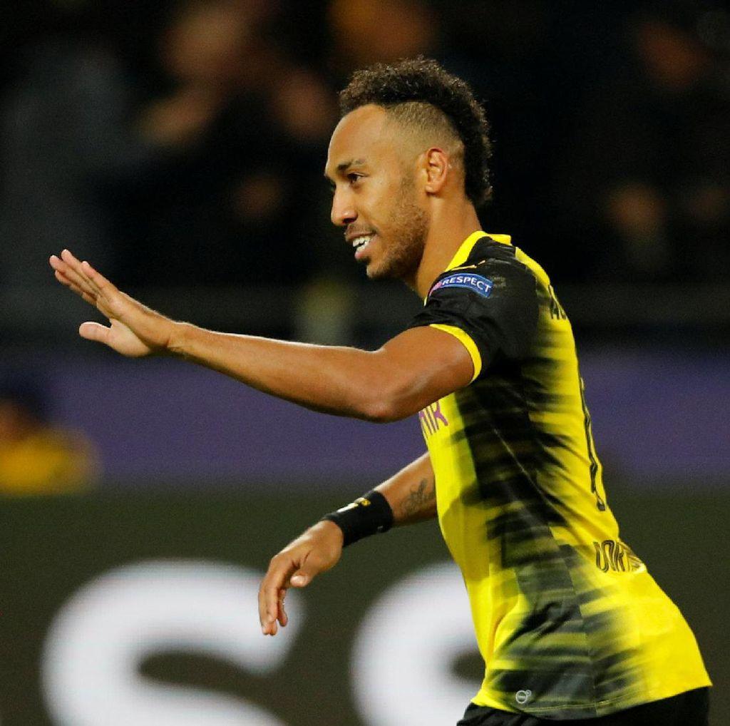 Dortmund Hukum Aubameyang, Berkaitan dengan Dembele dan Barcelona?
