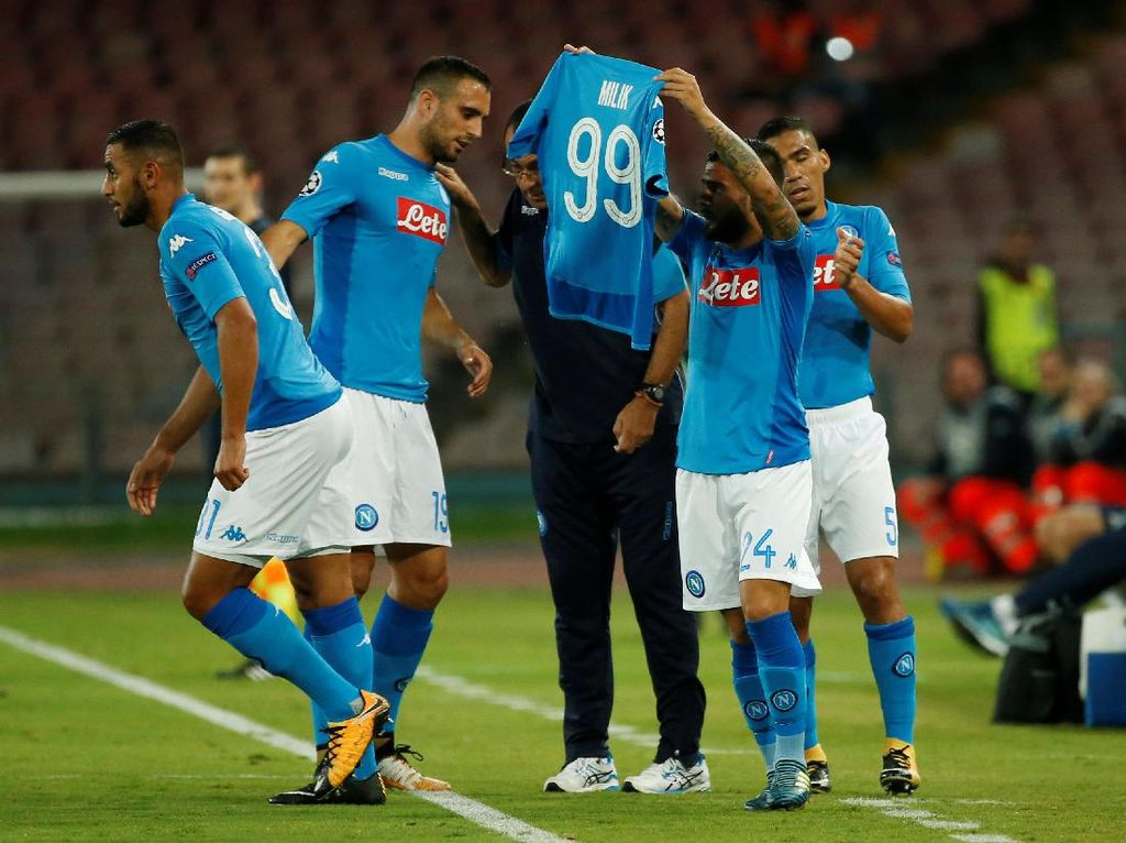 Napoli: Tim dengan Permainan Paling Sedap Dipandang di Serie A