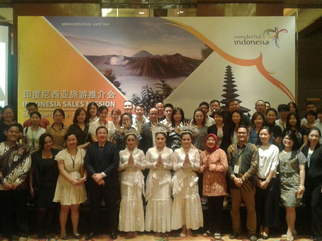 Indonesia Berharap Gaet 2,4 Juta Turis Muslim dari China