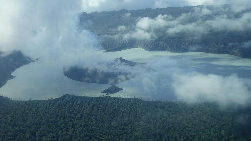 Begini Penampakan Gunung di Vanuatu yang Berpotensi Meletus