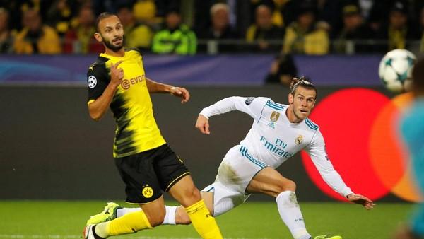 Gol Bale Bawa Madrid Unggul 1-0 atas Dortmund di Babak Pertama