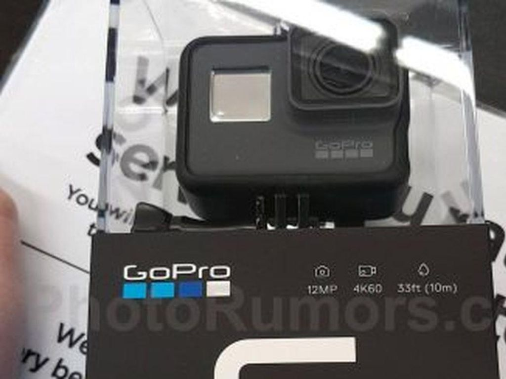 GoPro Hero 6 Black Siap Unjuk Gigi