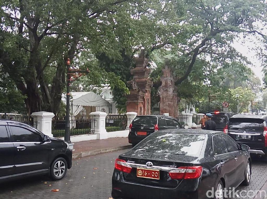 Usai Bertemu Jokowi, Panglima dan Wiranto Langsung Tinggalkan Istana