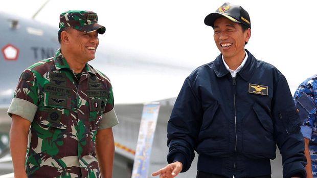Gatot Nurmantyo di Persimpangan Koalisi Jokowi dan Prabowo