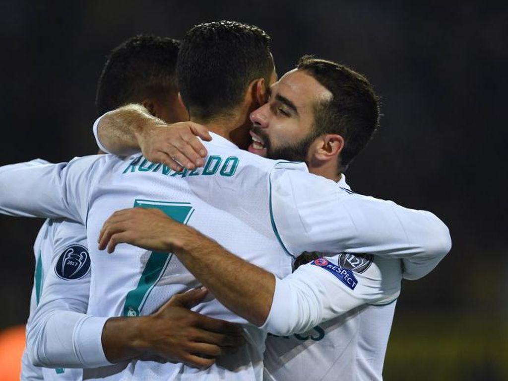 Madrid Raih Kemenangan Pertama di Signal Iduna Park