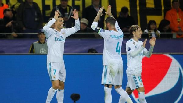 Real Madrid Satu Langkah Menuju Penampilan Terbaik