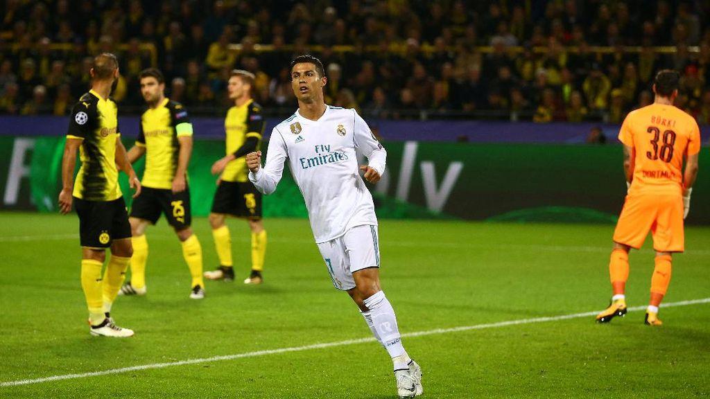 Madrid Akhirnya Menang di Markas Dortmund
