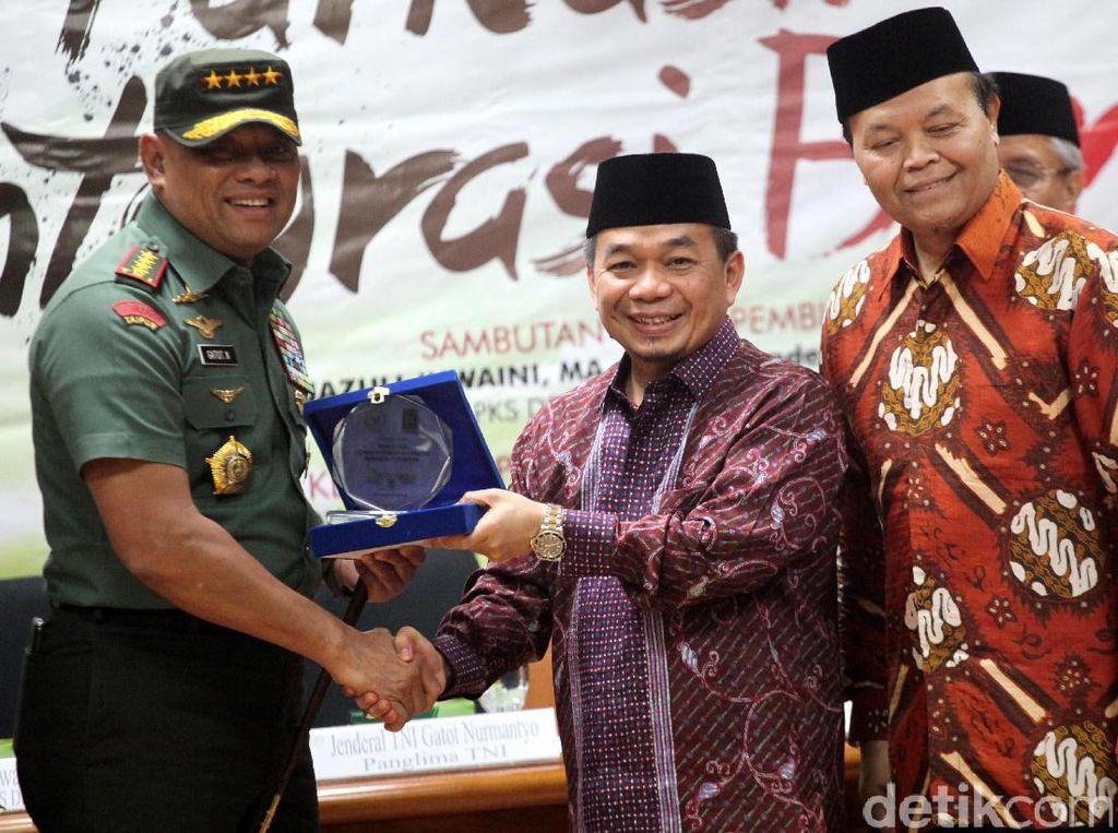 GNR Dukung Jokowi, PKS: Belum Tentu Gatot Juga ke Jokowi