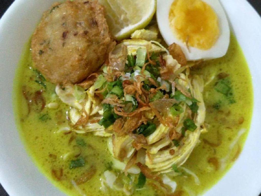 Resep Soto Ayam Santan yang Gurihnya Alami