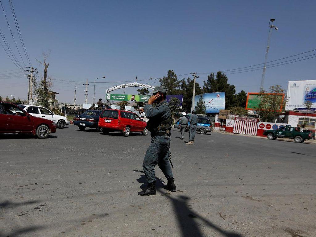 AS Gunakan Bandara Kabul untuk Evakuasi Pejabatnya