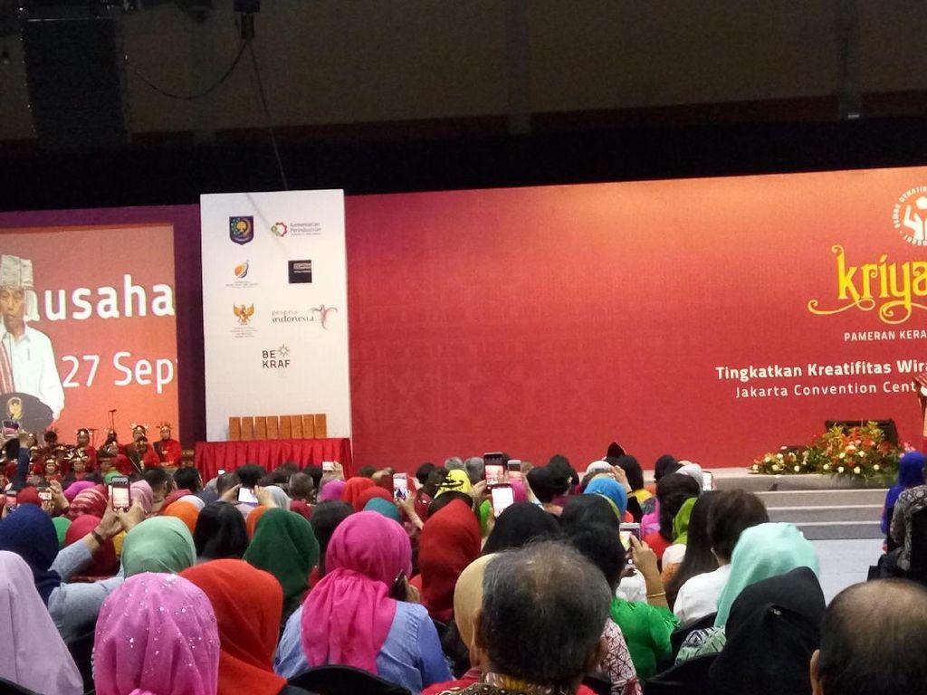 Jurus Jokowi Supaya Produk Kerajinan RI Bisa Kuasai Dunia