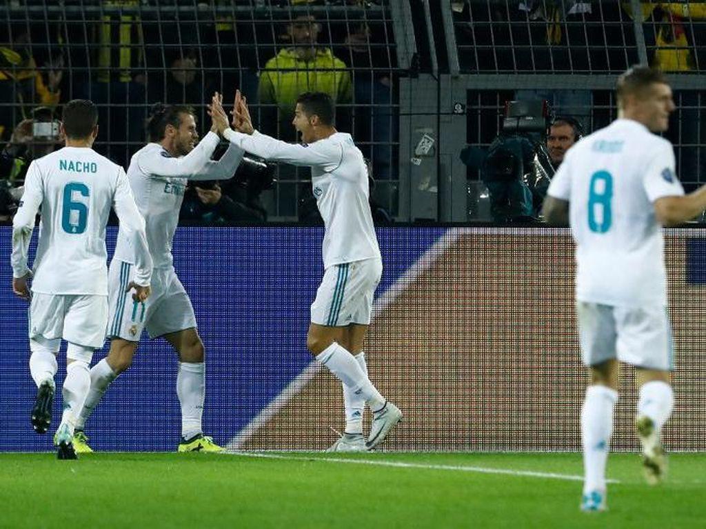 Zidane: Madrid Tampil Bagus dari Awal Sampai Akhir