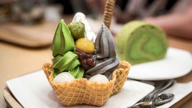 Dessert Jepang.