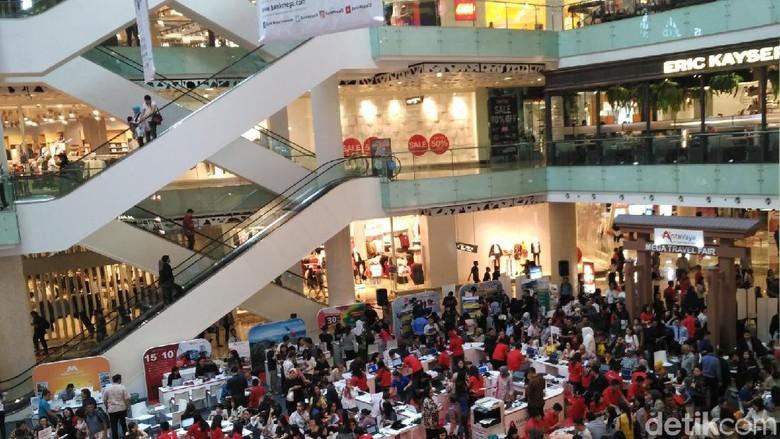 Mega Travel Fair Jakarta (Wahyu/detikTravel)