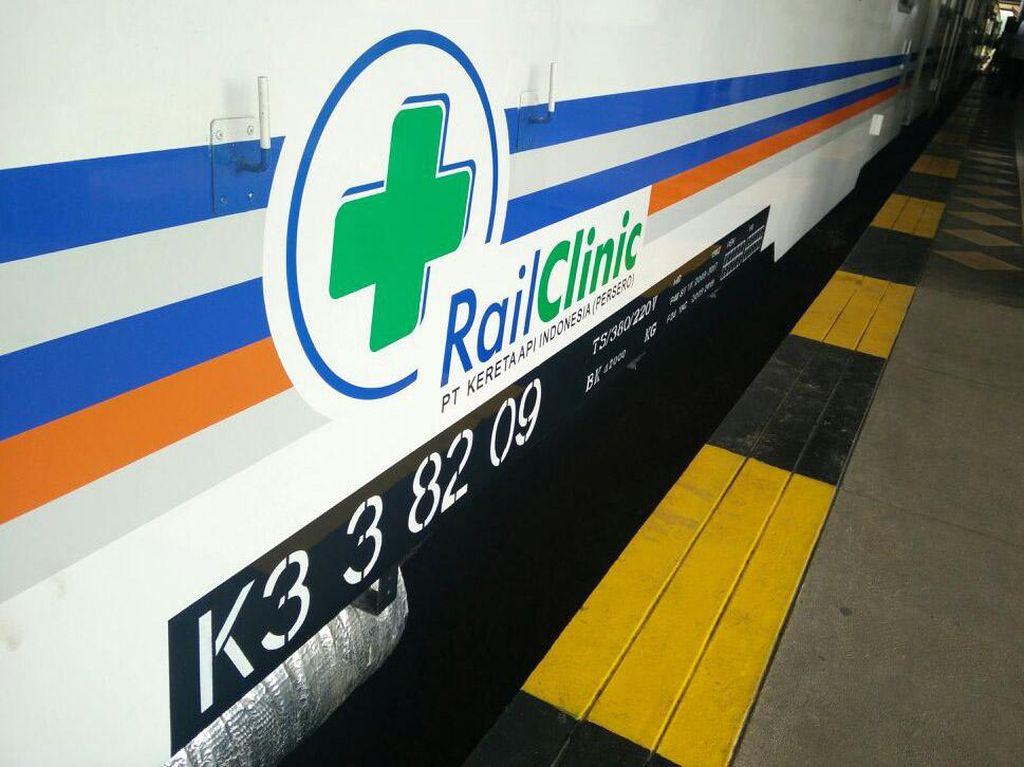 KAI Punya Kereta Klinik, Yuk Lihat Fasilitasnya
