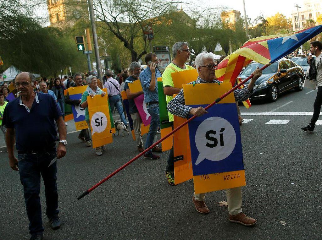 Tak Diakui Internasional, Bagaimana Nasib Kemerdekaan Catalonia?