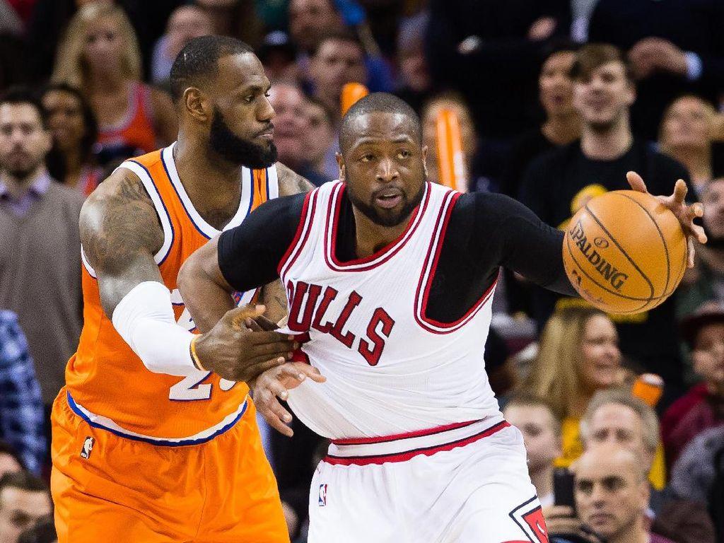 Gabung Cavaliers, Wade Resmi Reuni dengan LeBron