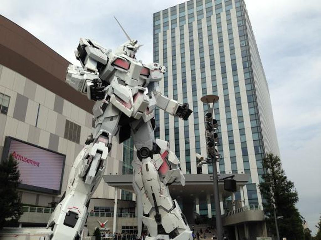 Legendary Entertaiment akan Garap Gundam Live-Action?