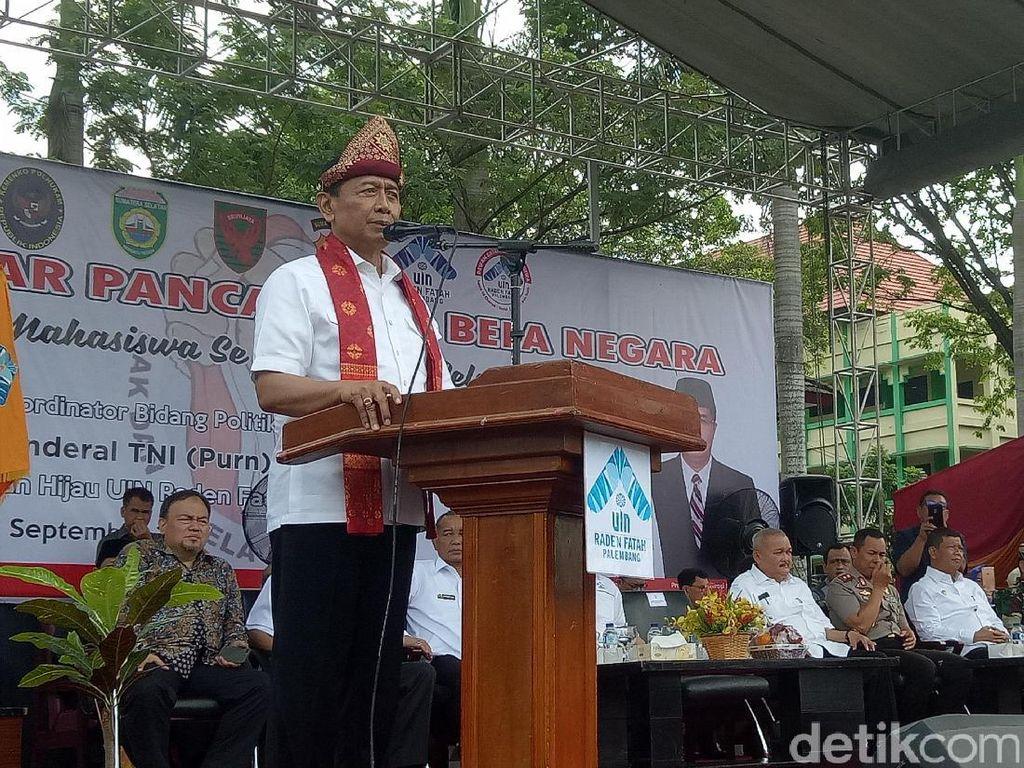 Wiranto: Kalau Ada yang Ingin Ganti Pancasila, Harus Dilawan!