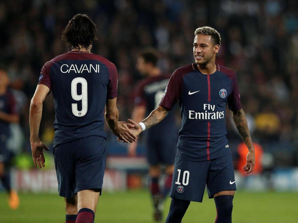 Neymar dan Cavani Bersatu, Bayern pun Remuk Redam