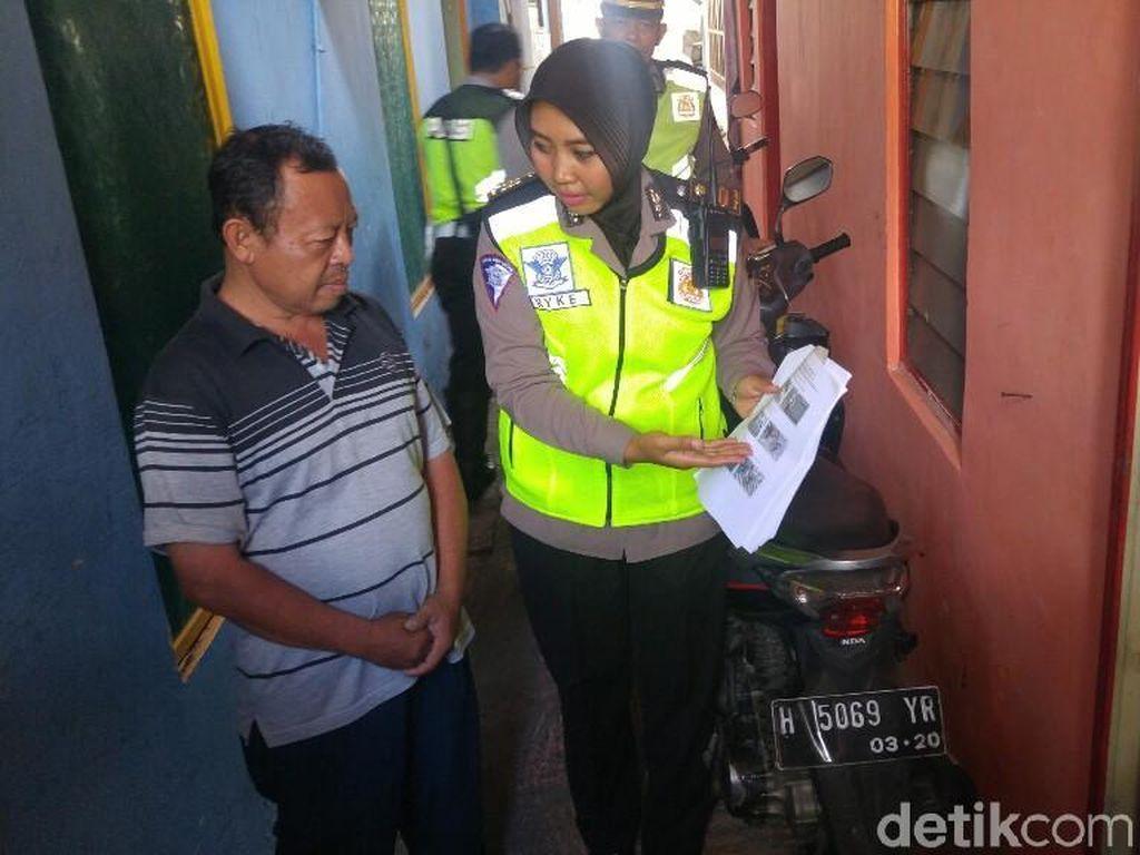 Kagetnya Para Pelanggar Lalin yang Kepergok CCTV Didatangi Polisi