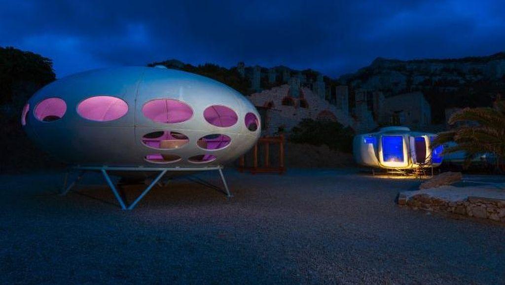 Foto: Rumah-rumah UFO di Prancis