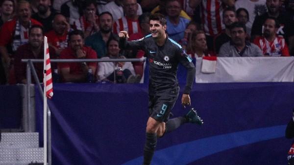 Conte Tak Terkejut dengan Penampilan Impresif Morata