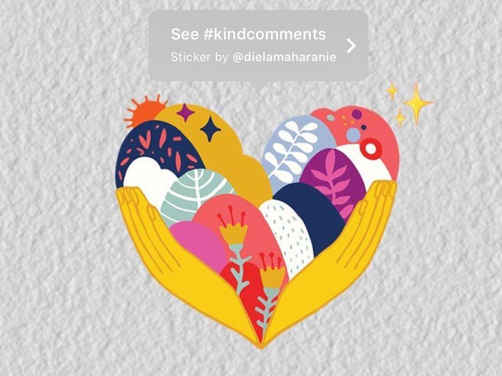 Indonesia Bangga! Stiker Diela Maharani Kini Ada di Instagram