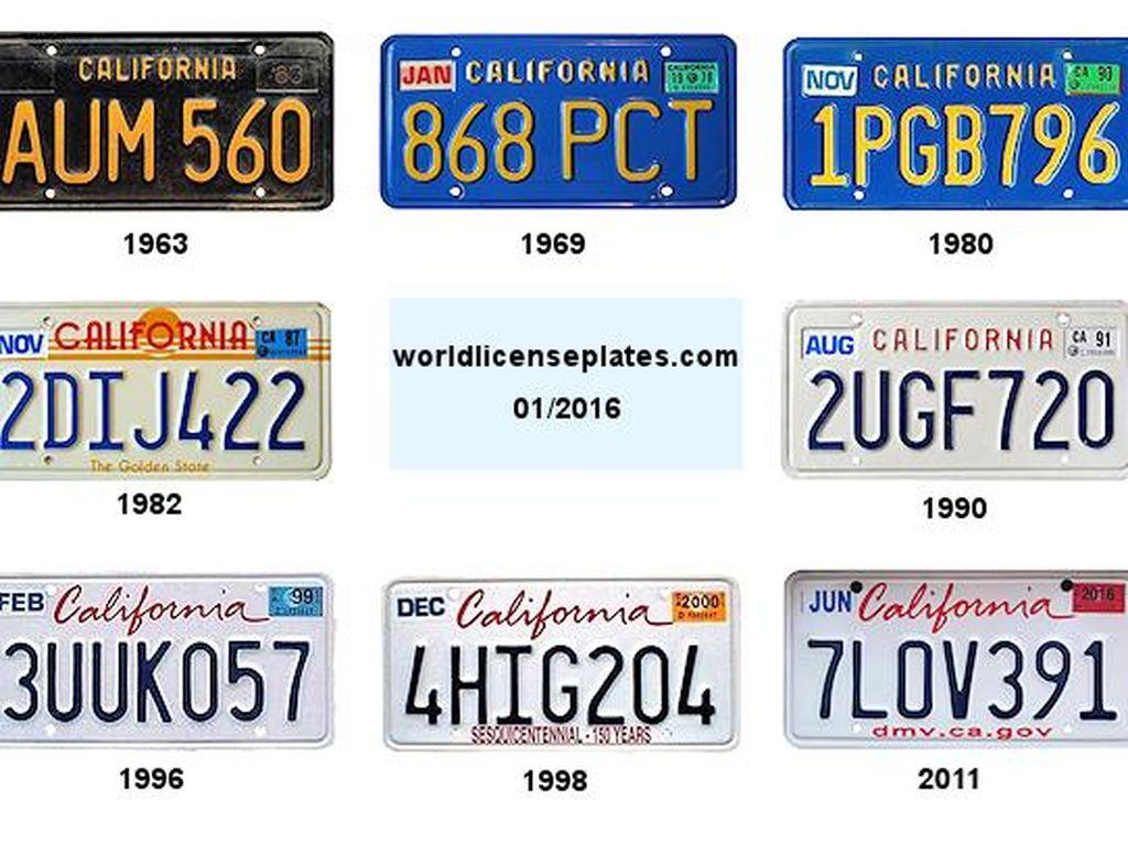 Keren, Pelat Nomor di AS Sudah Mirip GPS! Bisa Lacak Keberadaan Mobil