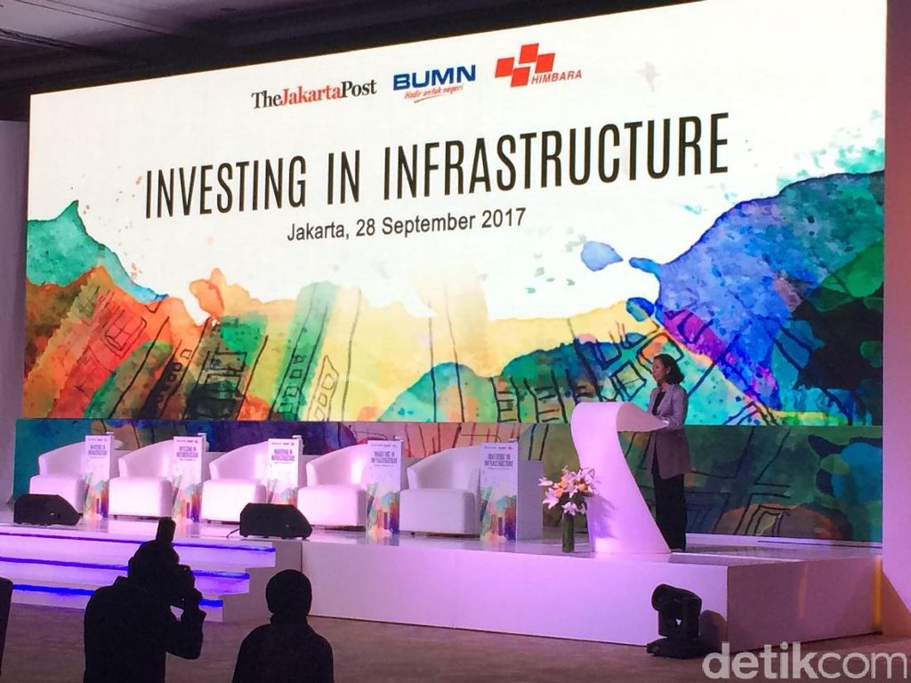 Rini Ajak BUMN dan Swasta Kerja Sama Bangun Infrastruktur