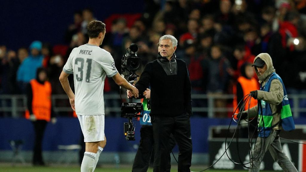 Matic Ungkap Rahasia Mourinho Bisa Jadi Manajer Spesial