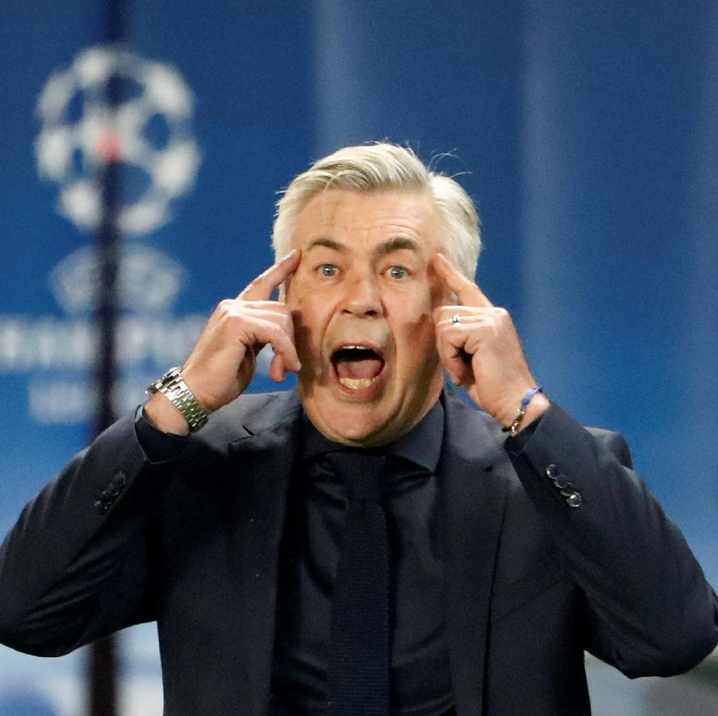 Kata Ancelotti soal Peluang Gantikan Wenger di Arsenal