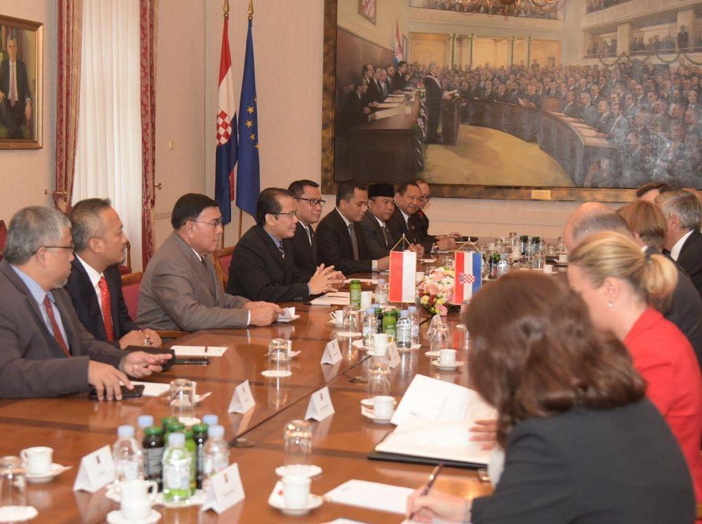 DPR RI Kunjungi Parlemen Kroasia, Ini Hasilnya