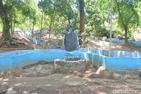 Suasana objek wisata kura-kura Belawa (Sudirman Wamad/detikTravel)