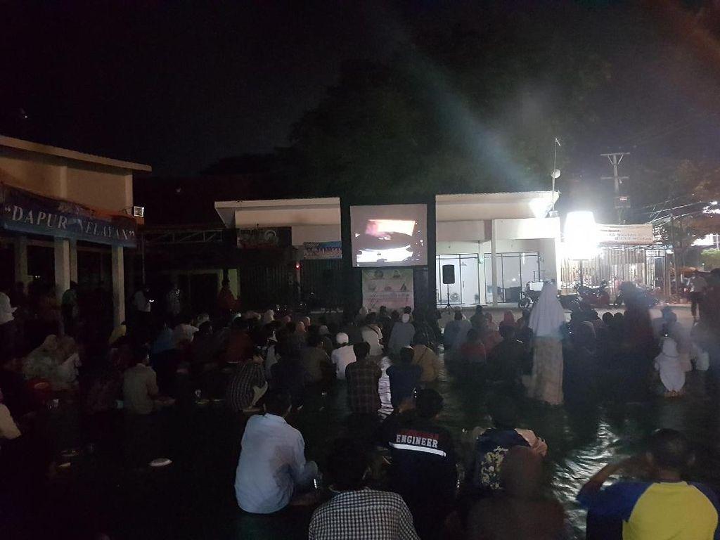 KAHMI dan Koramil Kota Serang Nobar Film G30S/PKI