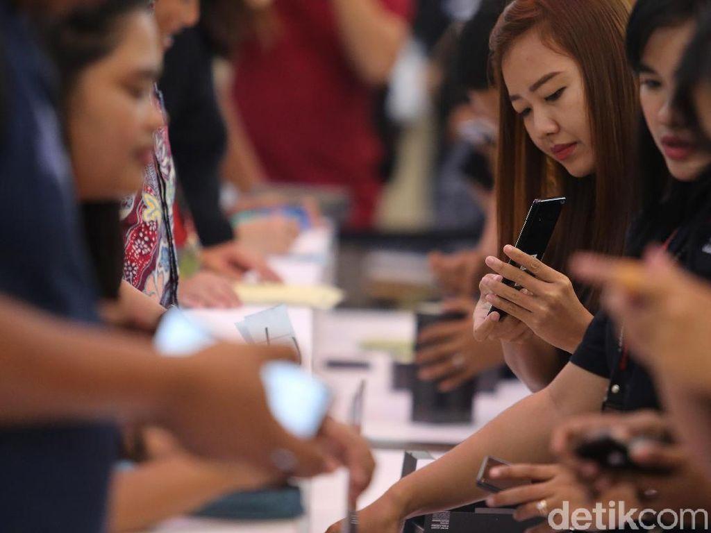 Penampakan Ponsel Termahal Samsung Ramai Diantre