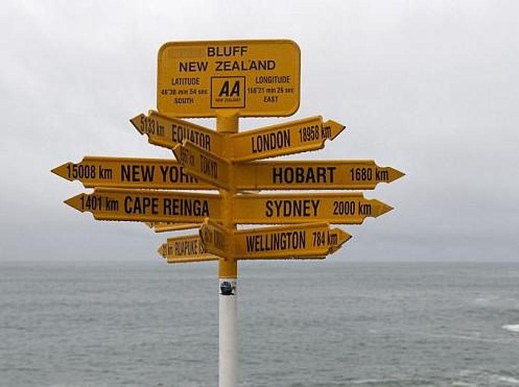Tidak Akurat, Petunjuk Arah di Selandia Baru Diprotes Banyak Turis